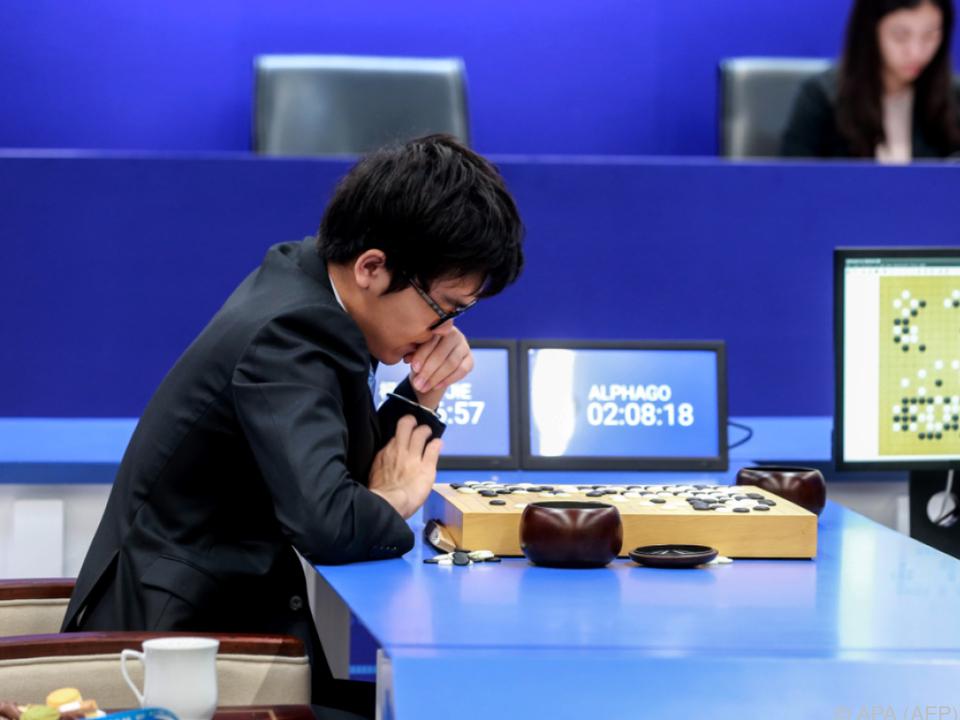 AlphaGo besiegte Ke Jie