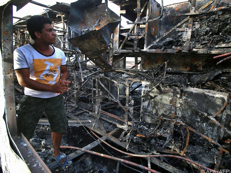 Am Stadtrand von Basra explodierte eine Autobombe