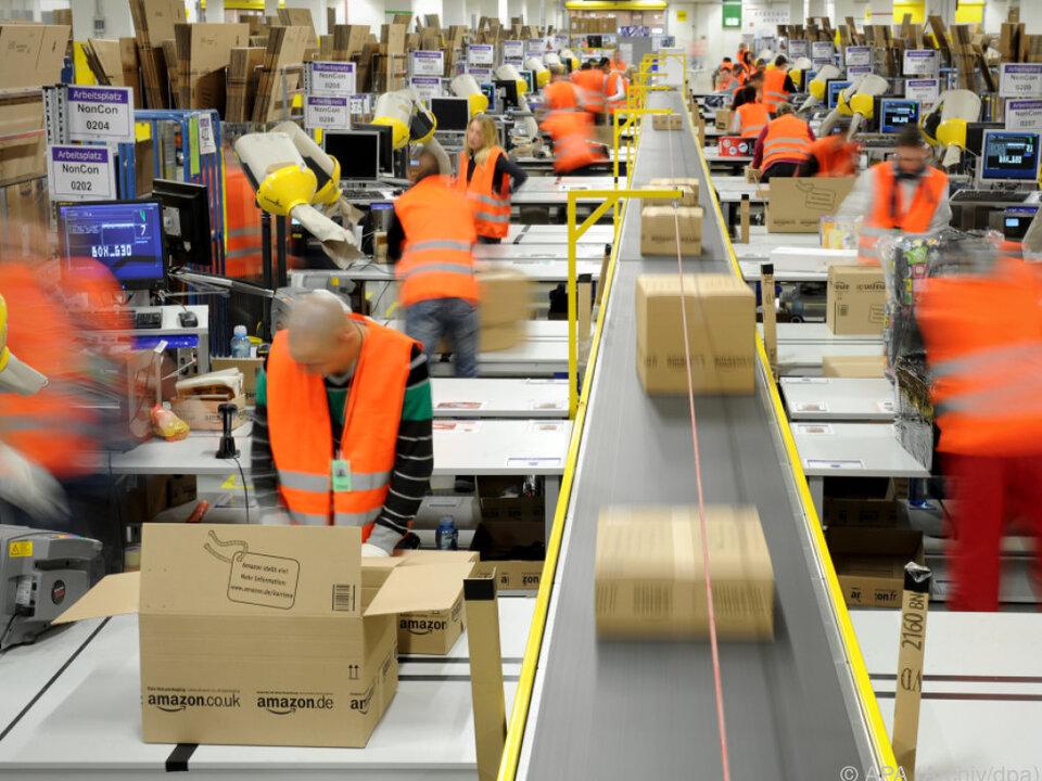 Amazon ist der weltgrößte Online-Händler