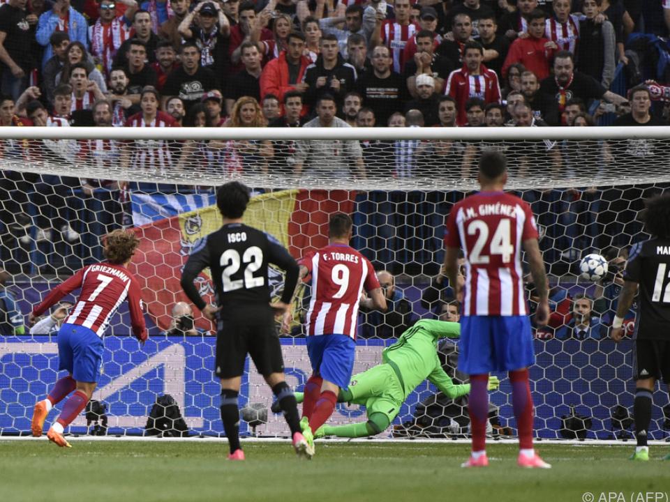 Atletico spielte beherzt, mit dem Gegentreffer war es aber vorbei