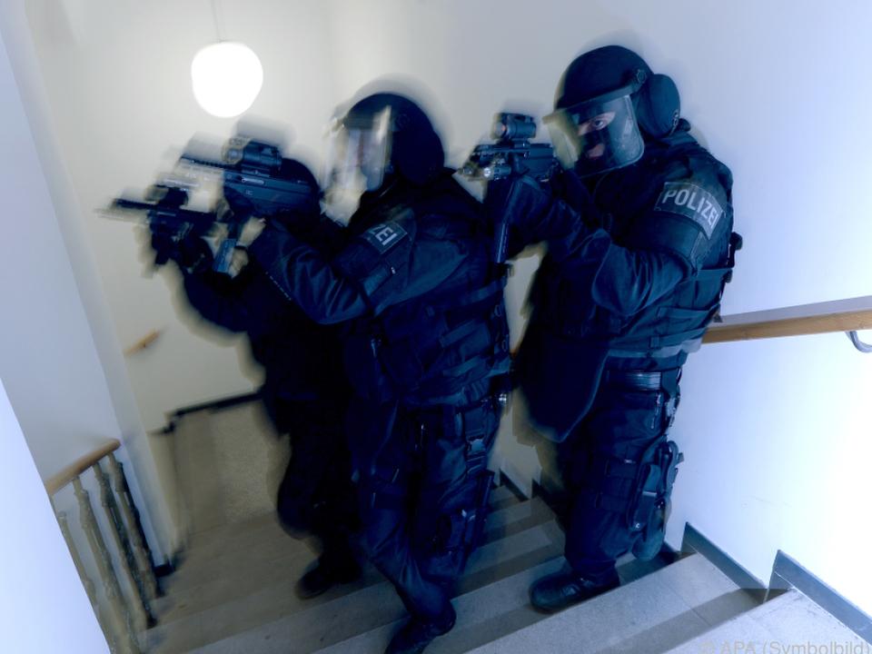 Beamte der Sondereinheit Cobra waren im Einsatz
