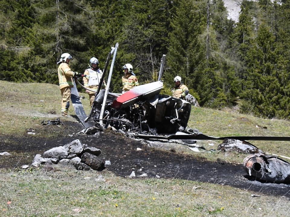 Bei dem Unglück kamen zwei Menschen ums Leben