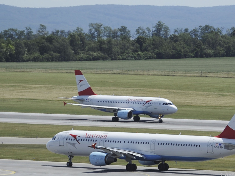 Bei der AUA sind alle Rumänien-Flüge im Plan