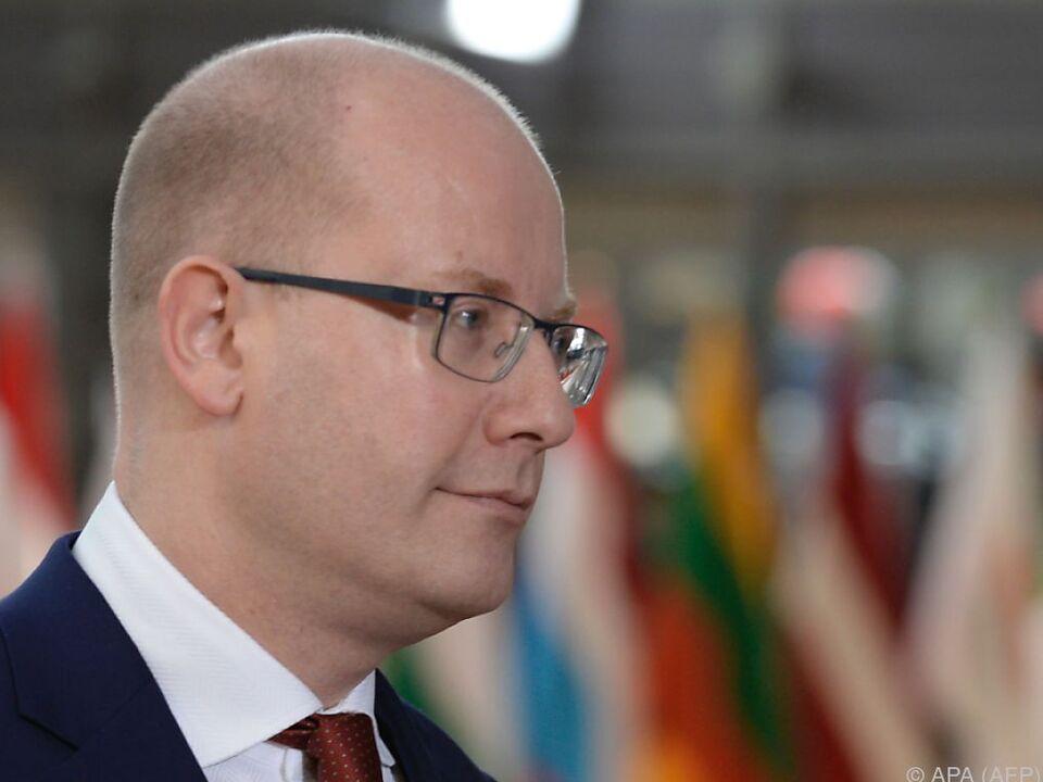 Bohuslav Sobotka tritt doch nicht zurück