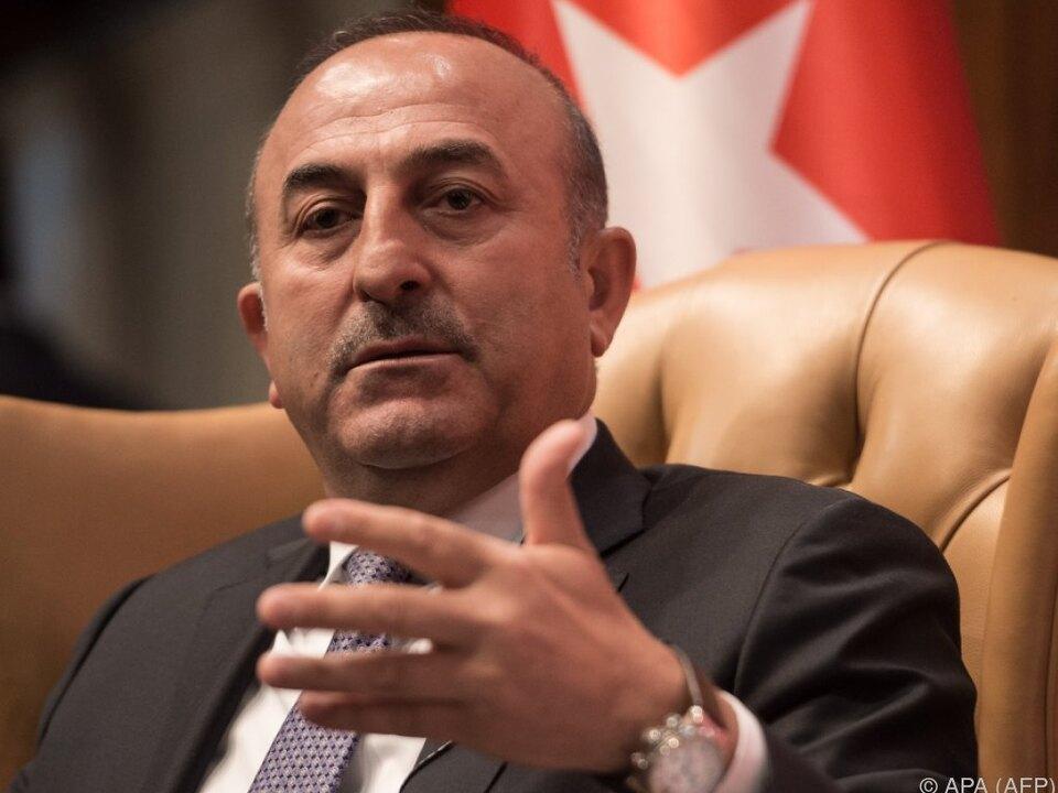 Cavusoglu übte erneut Kritik