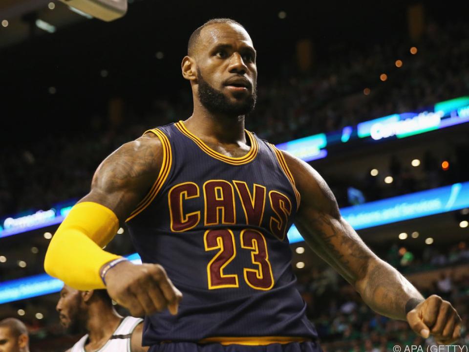 Clevelands Superstar LeBron James steht vor großer Herausforderung