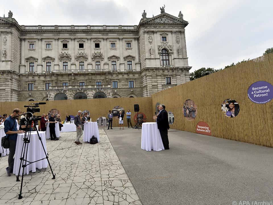 Das ehemalige Museum für Völkerkunde plant Event am Heldenplatz