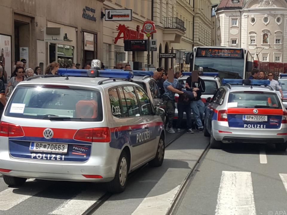 Der Angeklagte konnte in der Altstadt festgenommen werden