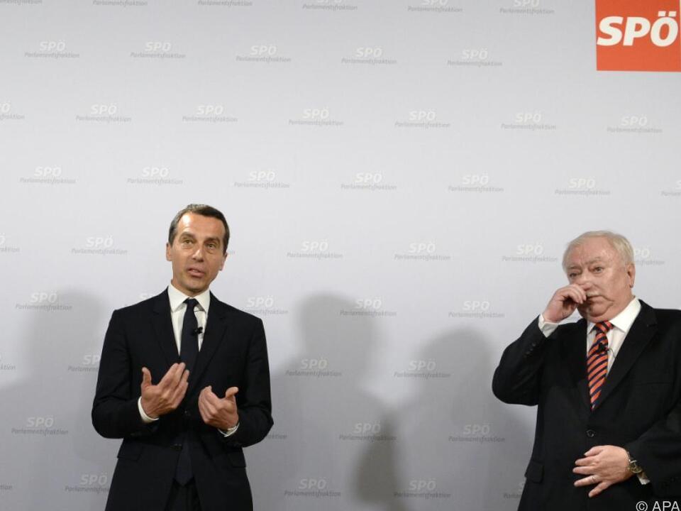 Der derzeitige Zustand der Wiener SPÖ ist für Kern kein Vorteil