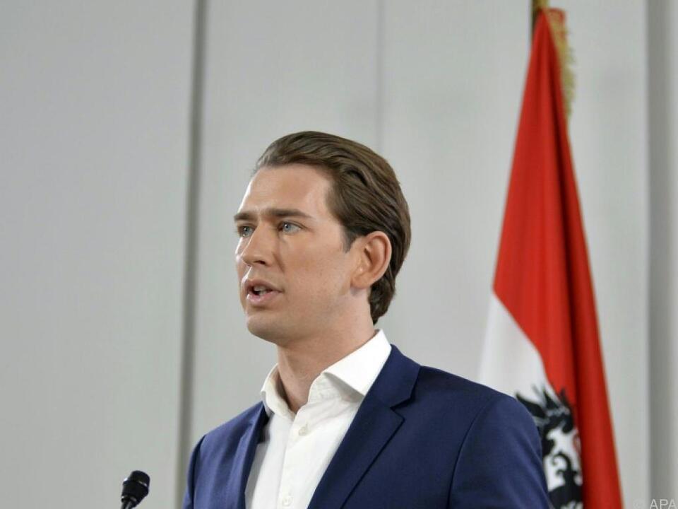 Der neue ÖVP-Obmann Sebastian Kurz