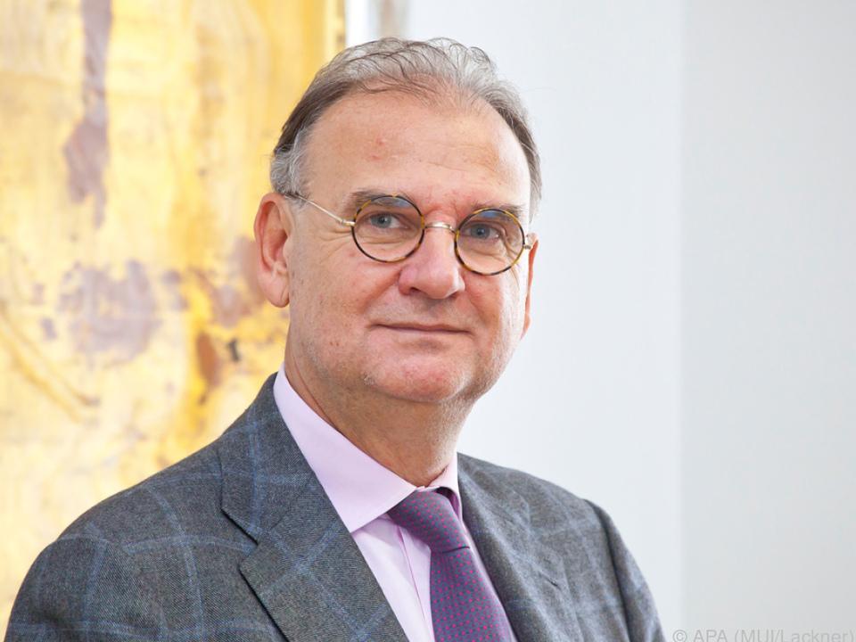 Der neue Rektor Wolfgang Fleischhacker