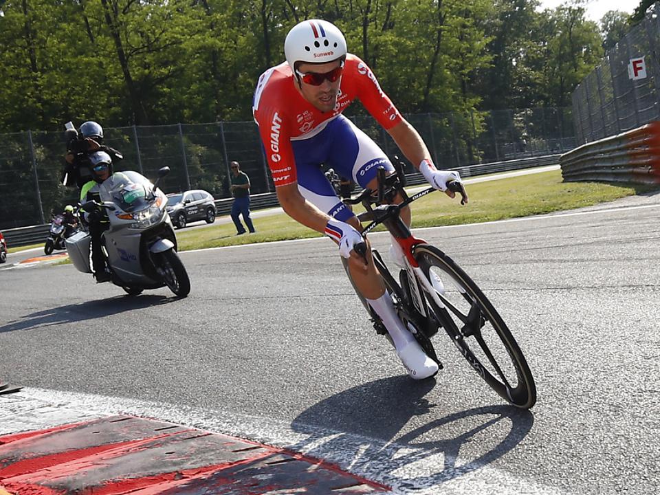 Giro: Van Garderen feiert Tagessieg, Dumoulin verteidigt Rosa Trikot