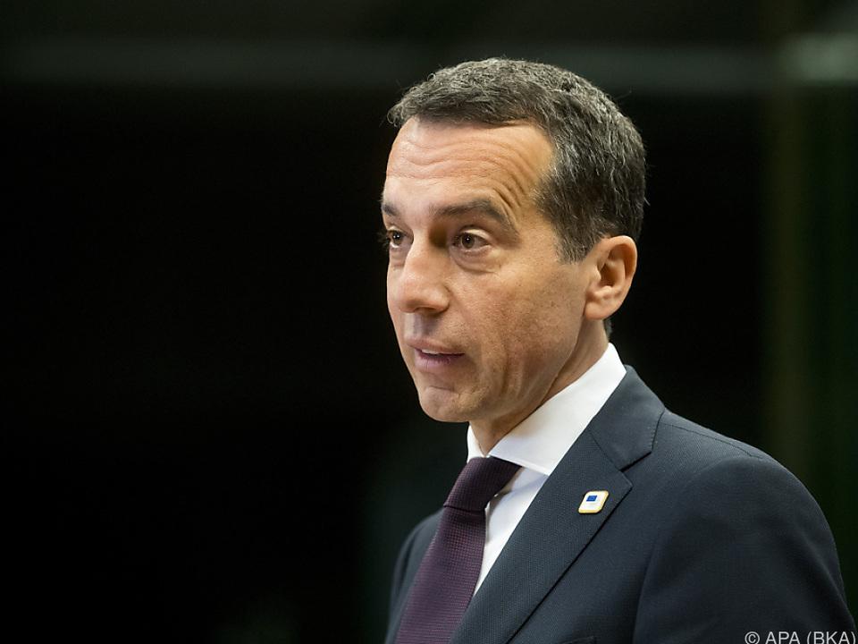 Der SPÖ-Bundeskanzler lässt aufhorchen