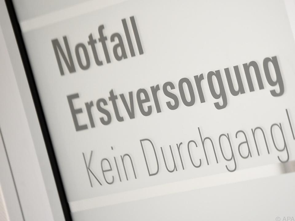 Der Verletzte wurde ins UKH Graz überstellt