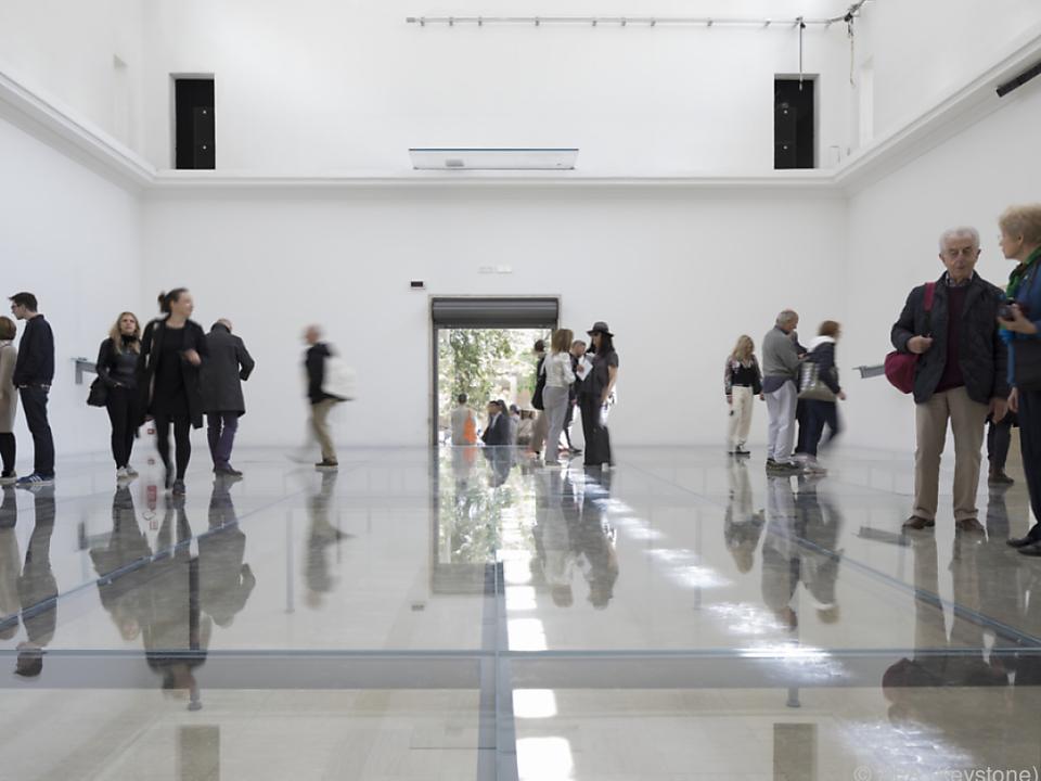 Der von Anne Imhof gestaltete Deutsche Pavillon in Venedig