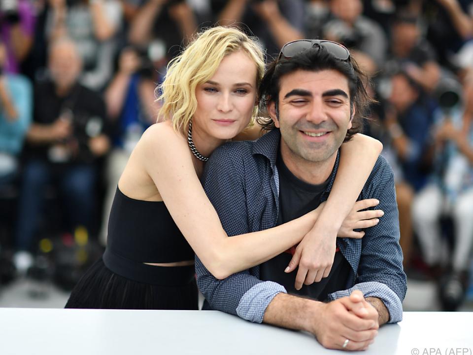 Frankreich: Diane Kruger in Cannes geehrt - Goldene Palme für Schweden