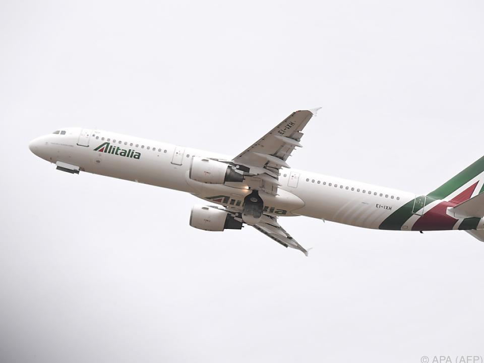 Die Alitalia hofft, weiterfliegen zu können
