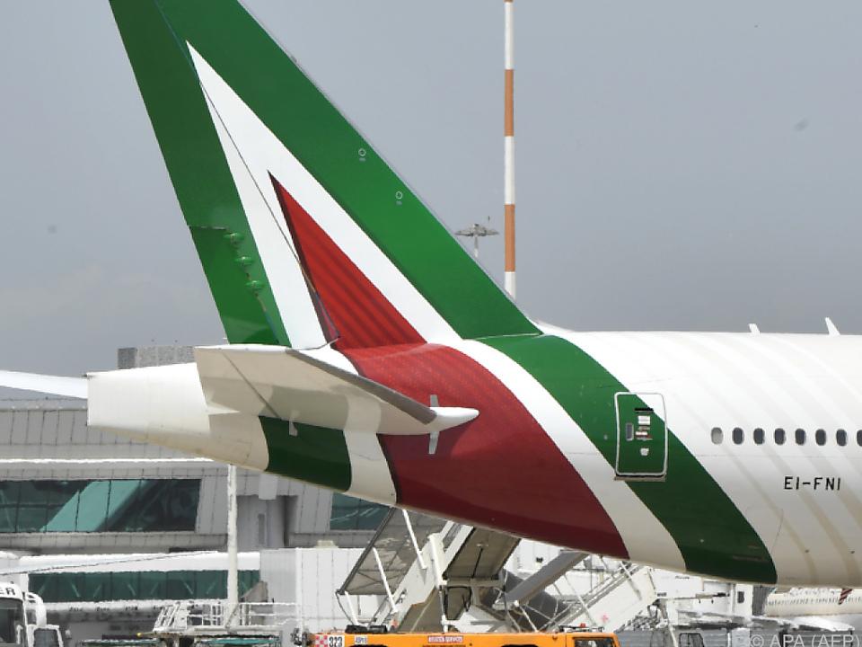Die Alitalia muss sparen