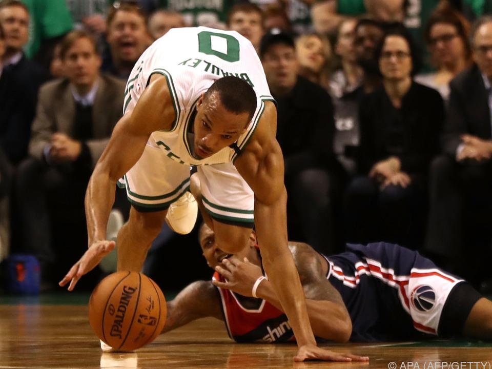Die Celtics jagten erfolgreich dem Ball nach