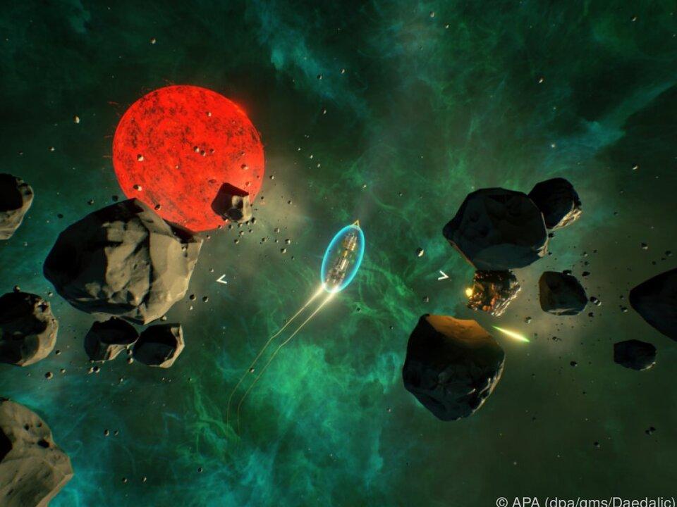 Die Crew der Daedalus 7 muss die weite Heimreise zur Erde antreten