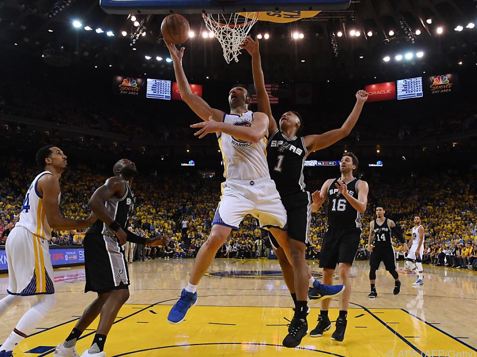 Die Golden State Warriors erkämpften sich den Sieg