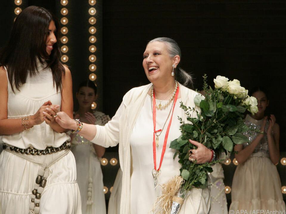 Die Modedesignerin starb im Alter von 73 Jahren