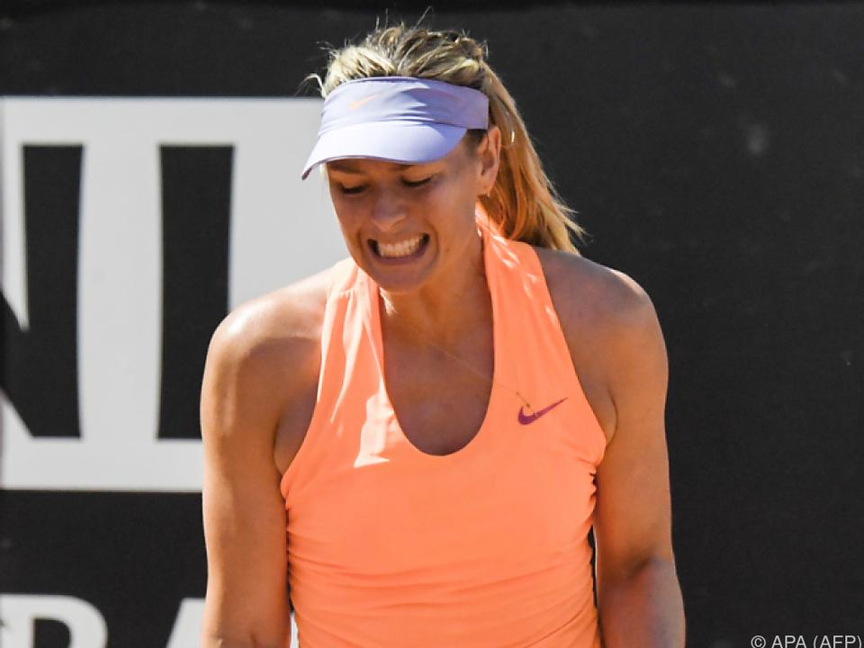Frankreich: French Open ohne Maria Scharapowa