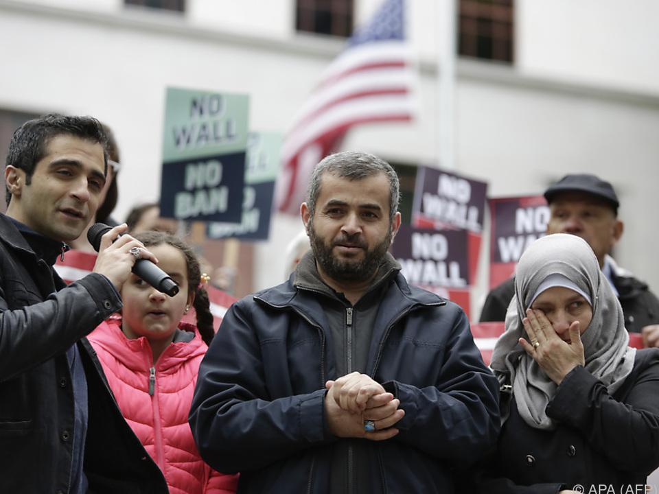 Die US-Regierung verteidigte abermals den Einreisestopp