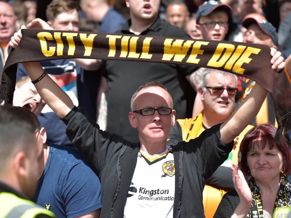 Dieser Fan hält seinem Verein trotz allem die Treue