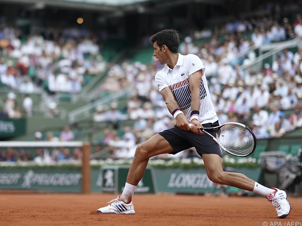 Djokovic hatte beim Auftakt keine Mühe