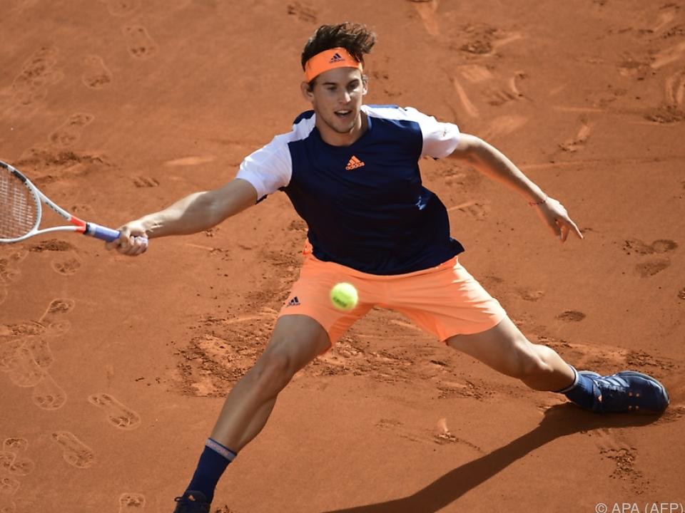 Dominic Thiem machte es Rafael Nadal nicht leicht