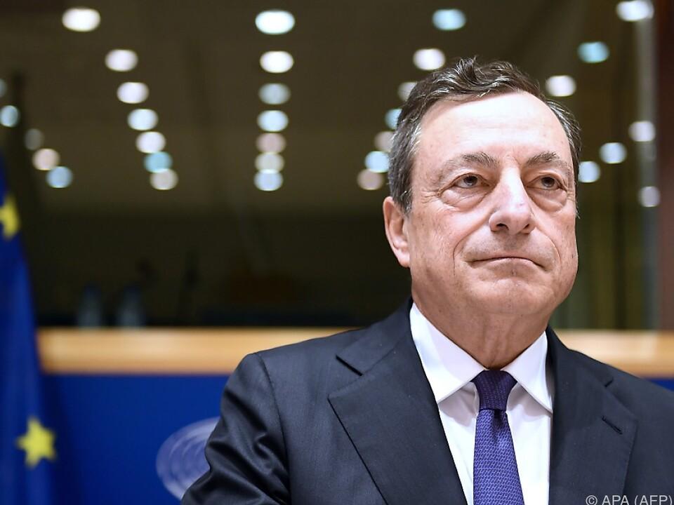 Draghi: Banken müssen sich auf Brexit rechtzeitig vorbereiten
