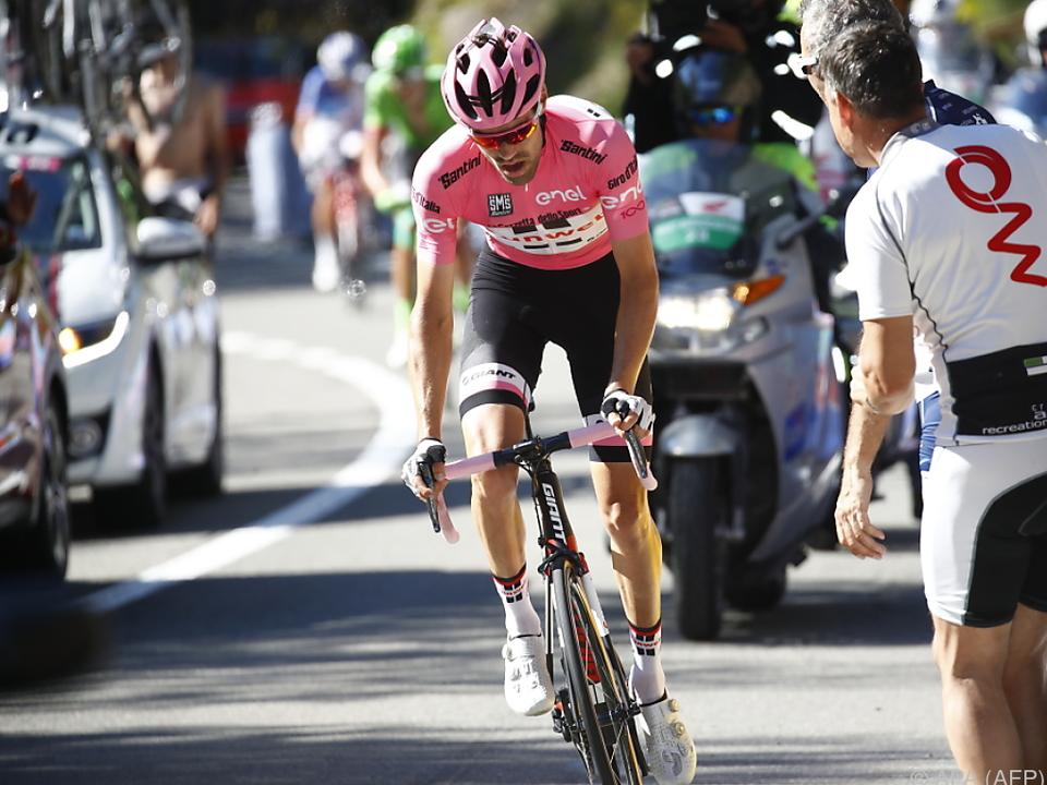 Dumoulin hat gute Karten für einen Giro-Sieg
