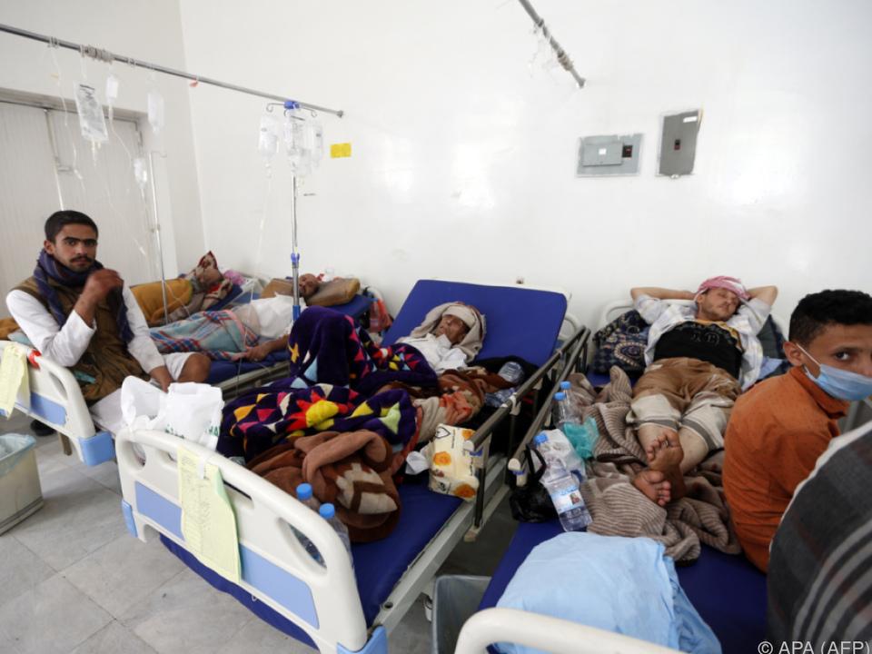 Tausende Fälle: Behörden im Jemen rufen wegen Cholera-Ausbruch Notstand aus