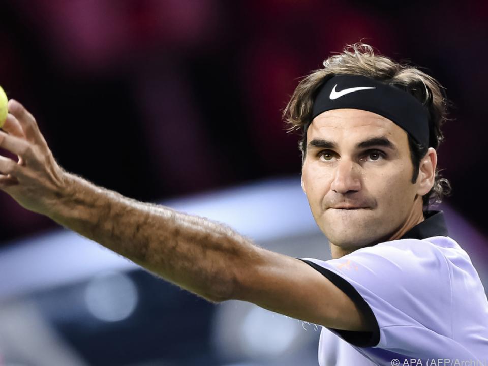 Federer konzentriert sich auf die Rasen- und Hartplatzsaison