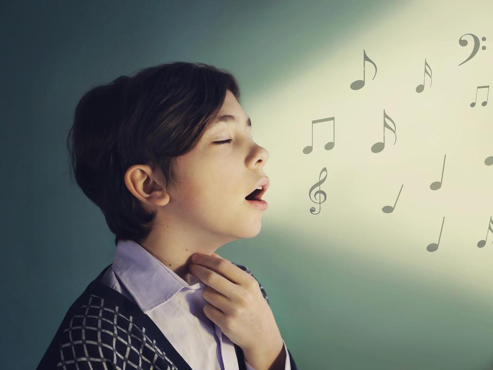 Singen Kind musik sym gesang