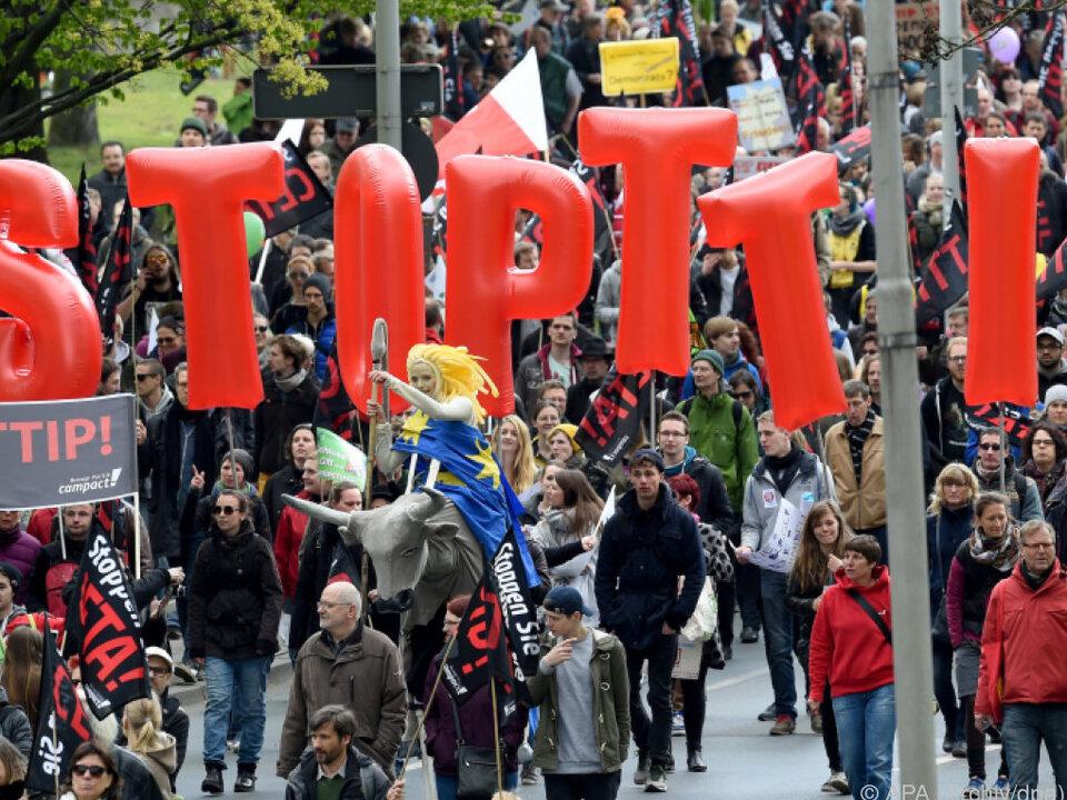 Freihandelsabkommen nicht Sache der EU-Institutionen allein