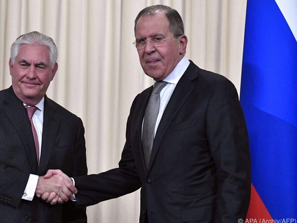 Russlands Außenminister zu Besuch im Weißen Haus