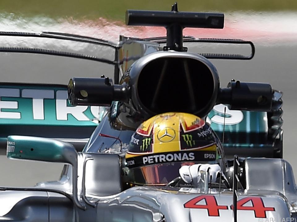 Vettel-Fehler: Pole für Hamilton