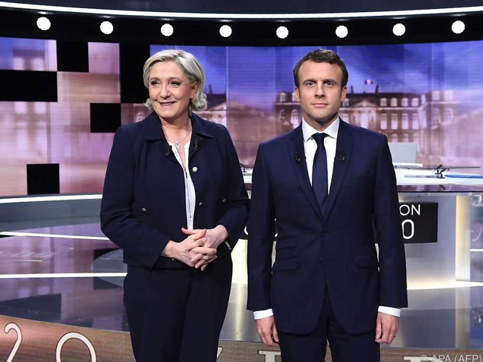 Hitziges Duell der beiden Kandidaten