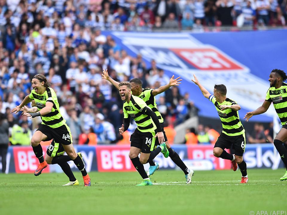 Huddersfield jubelt über die Rückkehr