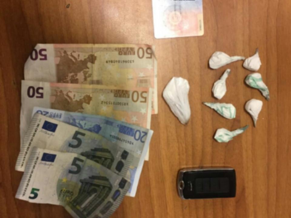 Geld Drogen Kokain
