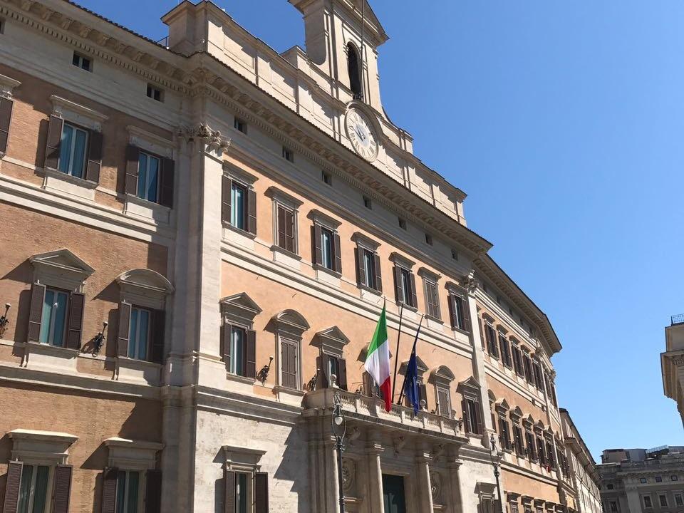 parlament rom abgeordnetenkammer montecitorio