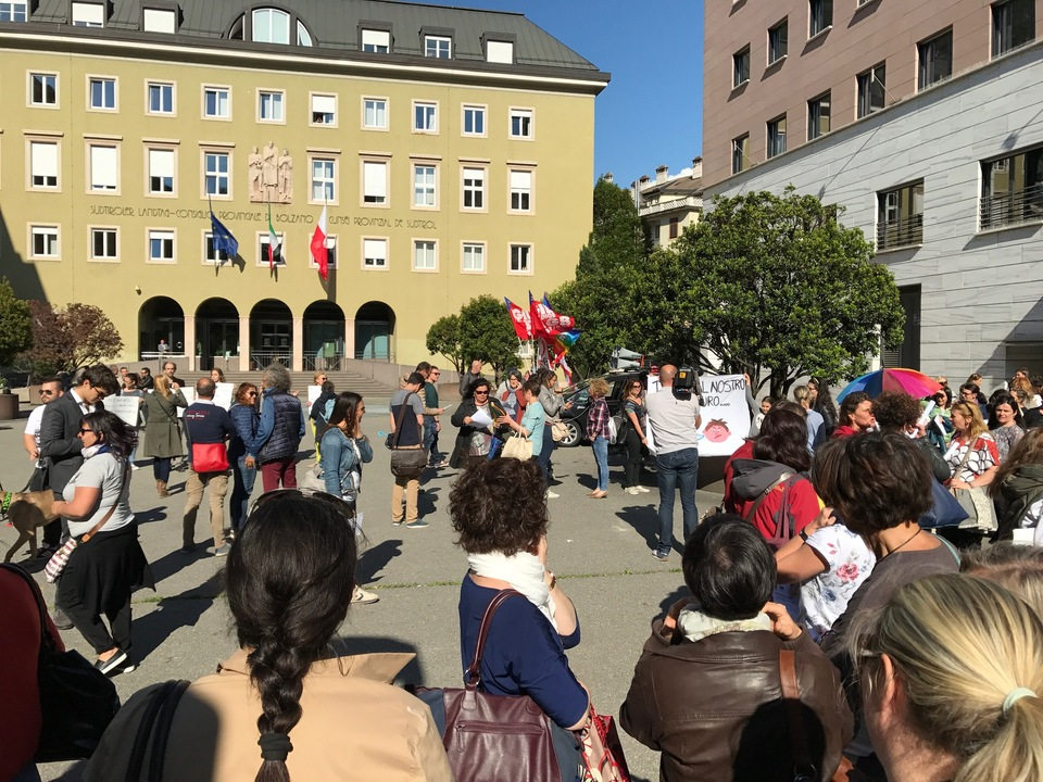 Kindergärtnerinnen Flashmob 2017