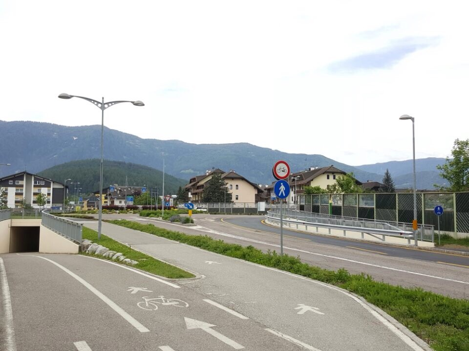 Kreisverkehr Bruneck bypass