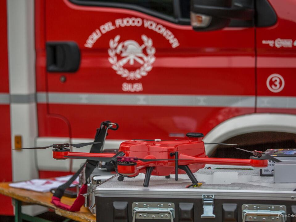 Drohne Seis Rehkitze
