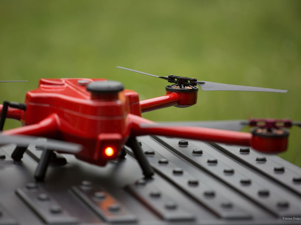 Drohne Rehkitze Seis