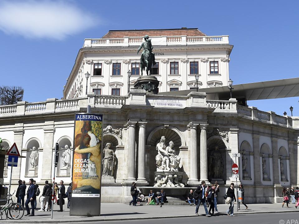 In Wien ist beispielsweise die Albertina mit von der Partie