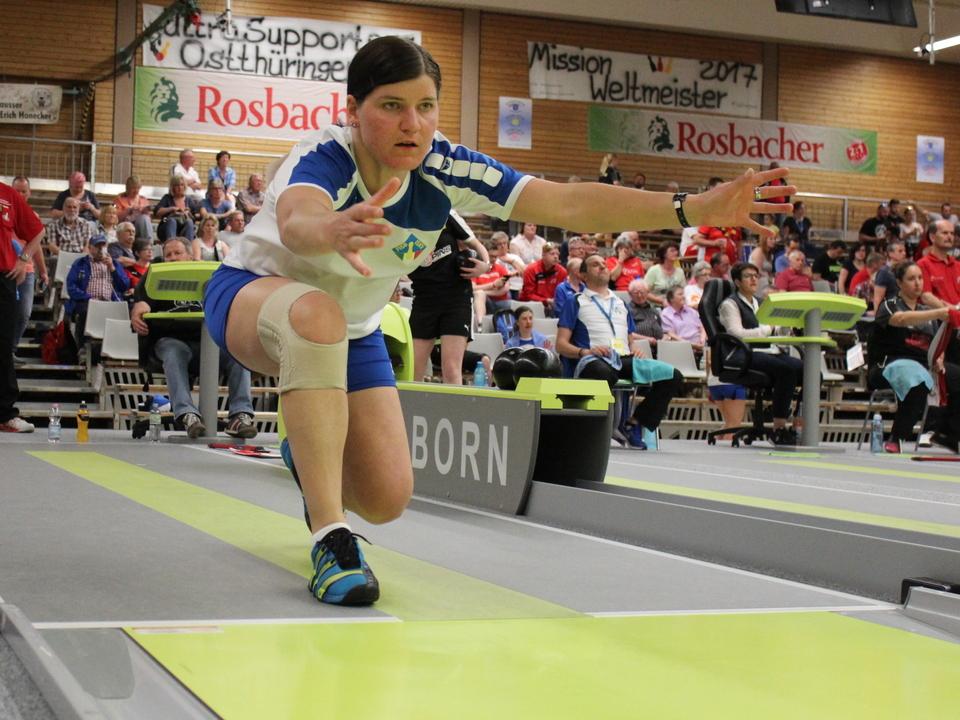 Christine Innerhofer Sportkegel-WM Dettenheim 2017