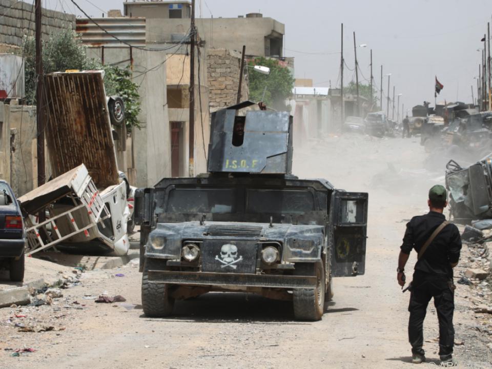 IS dürfte bald aus Mosul vertrieben sein